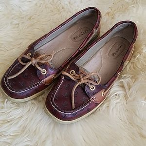 Sperry leather loafers like new